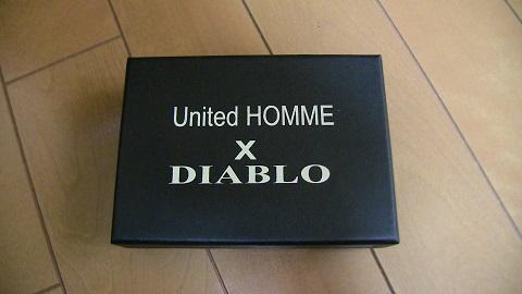 United HOMME President×DIABLO