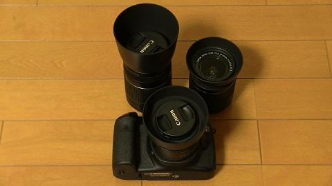 CANON EOS 60Dボディ・レンズ