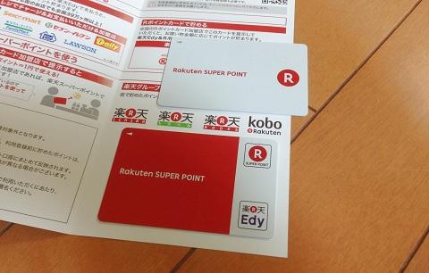 Edy-Rポイントカード・Rポイントカード
